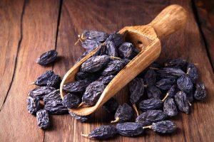 Picture of raisins