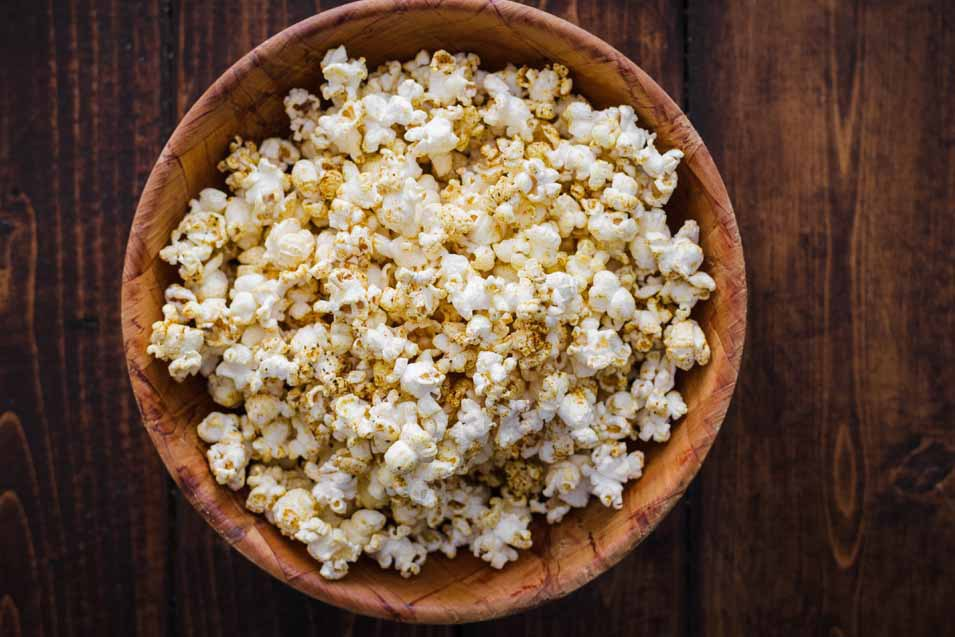 The dangers of eating popcorn