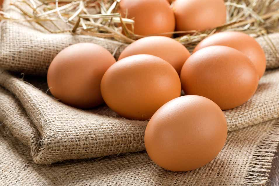 Picture of some brown eggs